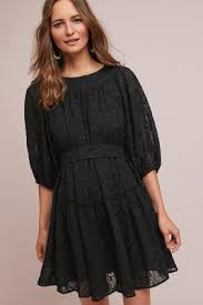 sleeve black dress flowy dresses casual dresses anthropologie