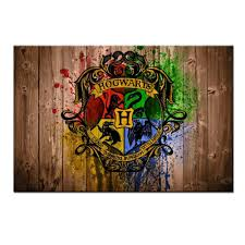 home decor wall art living room harry hogwarts logo harry potter