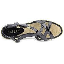 ralph lauren womens chrissy open toe casual platform sandals ebay