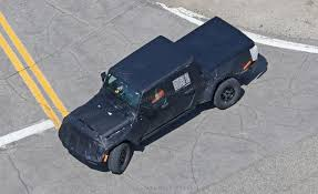 jeep truck 2019 new 2019 jeep wrangler u0027jt u0027 pick up truck spotted by car magazine
