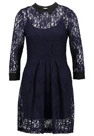 bcbgeneration summer dress deep blue women casual dresses