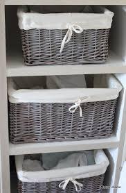 Wicker Bathroom Storage by Best 25 Wicker Baskets Ideas On Pinterest Wicker Spare Bedroom