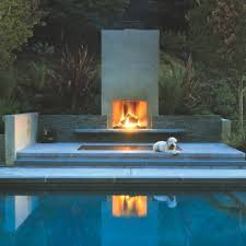 Modern Outdoor Gas Fireplace by 3 Modern Outdoor Fireplaces U2014 California Home Design Jacuzzi