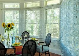 dining room window treatments ideas capiz shell u0027curtains u0027 kitchen and dining room pinterest