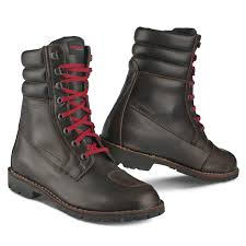 sportbike riding boots motorcycle boots urban in leather with gear prtections