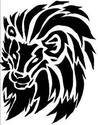 tribal lion tattoo designs sleeve tattoos pinterest tribal