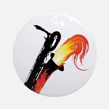 baritone saxophone ornament cafepress