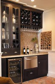 wine racks and glass holders home bar traditional with wine glass