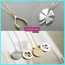 Custom Charm Necklaces China New Fashion Custom Gold Lucky Charm Necklace Jewellery For