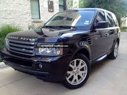 toyota land rover truck 2007 land rover range rover sport specs and photos strongauto