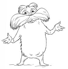 lorax coloring book awesome in addition to beautiful the lorax coloring pages for