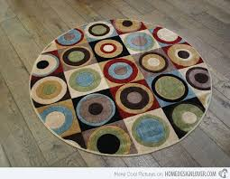 Geometrical Rugs 15 Geometrical And Artisitc Modern Round Area Rugs Home Design Lover