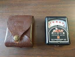 film camera light meter vintage skan exposure light meter for camera film photography with