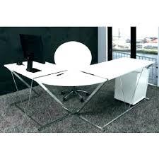 bureau informatique blanc laqué bureau informatique blanc bureau bureau informatique blanc pivotant