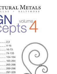 king metals catalog design concepts vol 4 page 1
