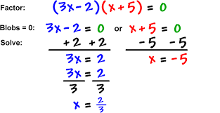 solving equations by factoring coolmath com