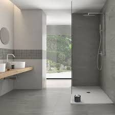 Porcelain Bathroom Floor Tiles Jupiter Grey Lightweight Thin Porcelain Tile
