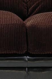 Corduroy Sofa Bed Monika Chocolate Corduroy Sofa By Coaster 502811