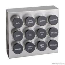 Soho Magnetic Spice Rack Showcase Spices With Contemporary Design Save Space And Make