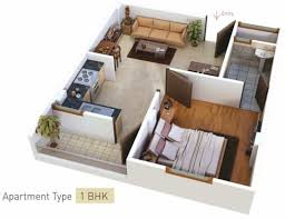 506 sq ft 1 bhk 1t apartment for sale in samanvay group atmosphere