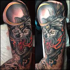 forearm wolf tattoos 52 beautiful wolf tattoo designs with meanings