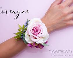 Corsage For Prom Prom Corsage Etsy