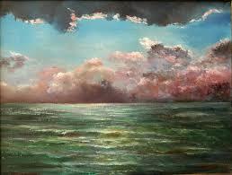 vladimir volosov artwork thunderstorm over the see original