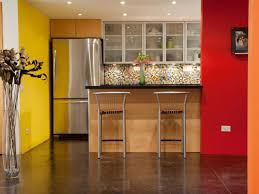 Red Painted Kitchen Cabinets by Kitchen Paint Idea Picgit Com