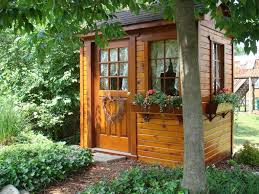 mary ann u0027s small potting garden shed turned into her backyard she