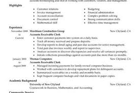 Accounts Payable And Receivable Resume Sample by Accounts Payable Receivable Resume Sample Reentrycorps
