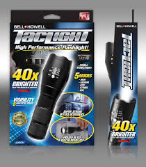tac light flash light as seen on tv bell howell taclight led flashlight walmart com