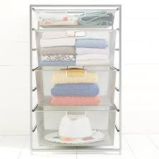 Platinum Elfa Mesh Start A Stack The Container Store
