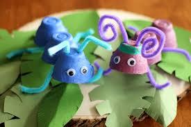a bug u0027s life egg carton craft disney family