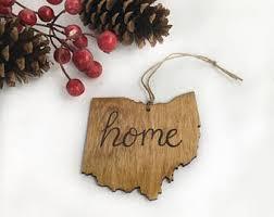 ohio state ornaments etsy