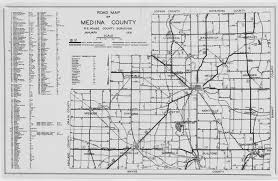 Ohio Map Us by Medina County Map Archive