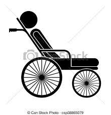 rollstuhl design vektoren illustration rollstuhl freigestellt behinderten