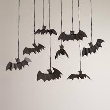 halloween hanging bat decorations