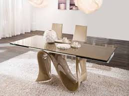 furniture amazing unique glass dining room table sets dining