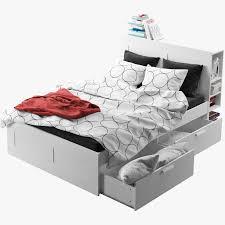 Brimnes Bed Frame Brimnes Bed Frame 3ds