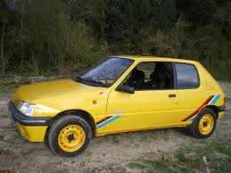 peugeot yellow curbside classic 1994 peugeot 205 u2013 unexpected greatness