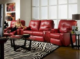 cool reclining sectional in living room traditional with next to
