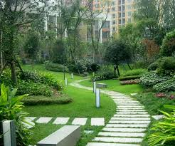 beautiful house gardens decorating clear