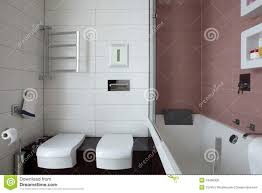 bright bathroom interior with clean bright and clean european toilet stock photo image of bathroom