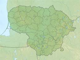 Map Of Lithuania File Relief Map Of Lithuania Jpg Wikimedia Commons