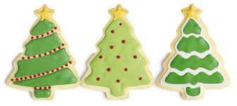 christmas tree cookies u2013 happy holidays