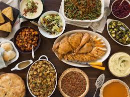 thanksgiving traditional thanksgiving dinner menu