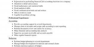 Financial Accountant Resume Sample by Senior Accountant Resume Summary Senior Financial Accountant