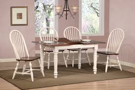 sunset trading 5pc butterfly dining set with spindleback chairs