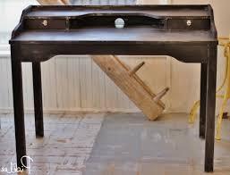 diy vintage industrial desk ikea hack picklee regarding