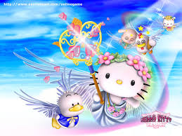 Hello Kitty Halloween Games by My Free Wallpapers Games Wallpaper Hello Kitty World